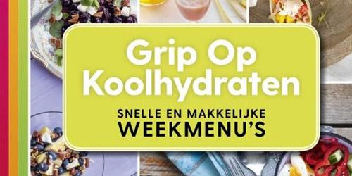 Yvonne Lemmers - Grip op koolhydraten. Snelle en makkelijke weekmenu's.