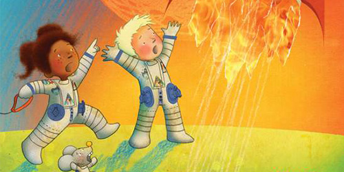 André Kuipers & Natascha Stenvert - André het astronautje op zoek naar Laika